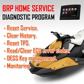 MaptunerX Sea-Doo BRP Home Service Application