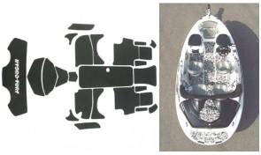 Sea-Doo Speedster (00-03) / Speedster 160 (04) Hydro-Turf