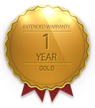 1 Year No-Fault Warranty **FREE EXPEDITE SERVICE**