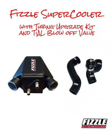 Fizzle ™ SuperCooler + Tubing Upgrade Kit + TiAL Blow Off Valve