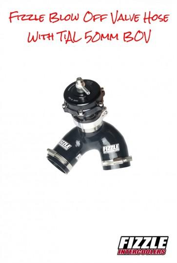 Fizzle ™ Yamaha Intercooler Tubing Upgrade Kit with TiAL BOV