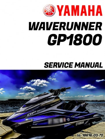 Yamaha GP1800 Service Manual