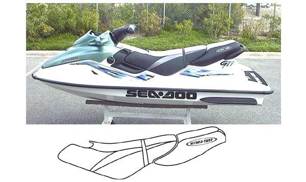 Hydro Turf Sea Doo Gtx 96 99 Gti 97 00 Seat Cover Sew821