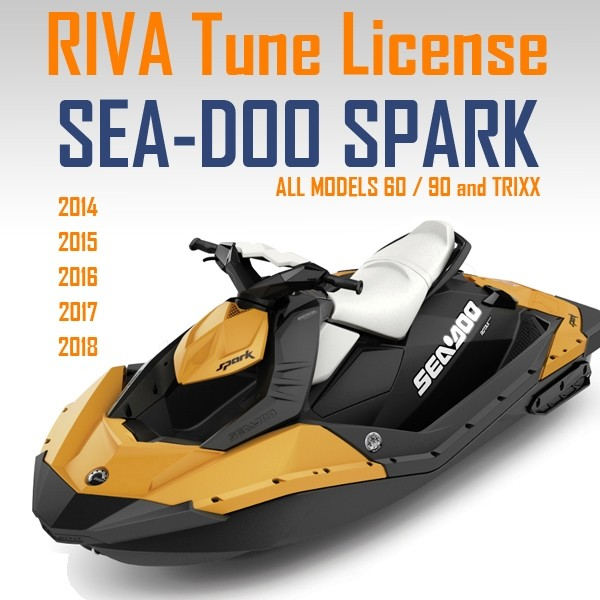 Sea-Doo Spark RIVA Tuning ECU Flash Credit 2014-19