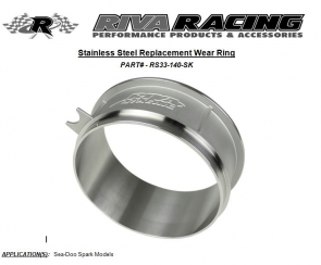 RIVA Sea-Doo Spark Stainless Steel Wear Ring