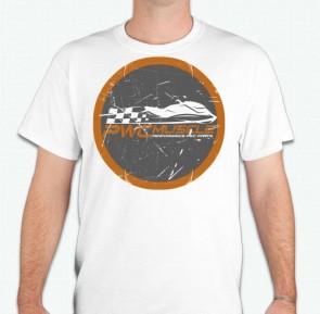 PWC Muscle Orange Logo T-Shirt
