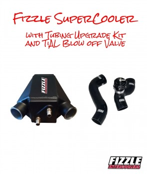Fizzle ™ SuperCooler + Tubing Upgrade Kit + TiAL Blow Off Valve