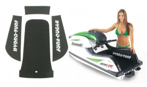 "Kawasaki 800 SXR Mats with 1"" Kick Tail Hydro-Turf"