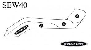 Hydro Turf Kawasaki X2 Seat Cover