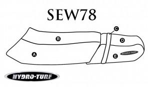 Hydro Turf Yamaha WaveVenture (94-96) Seat Cover