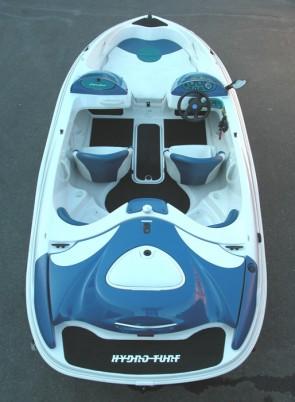 Sugar Sand Tango 4+2 / Super Sport (98-06) Rear Boarding Hydro-Turf