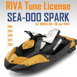 Sea-Doo Spark RIVA Tuning ECU Flash Credit 2014-20
