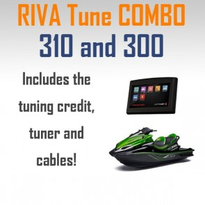 RIVA / V-TECH Maptuner X Tune Kawasaki 300 310 Bundle