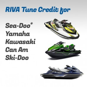 RIVA Tuning Credit For Sea-Doo, Yamaha, Kawasaki, Can Am, and Ski Doo