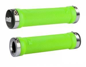 ODI Ruffian Lock-On Grips, 130mm, No Flange, Green