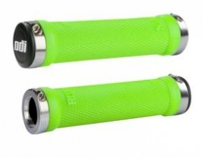 ODI Ruffian Lock-On Grips, 130mm, No Flange, Green