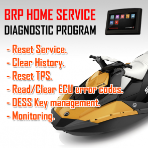 MaptunerX Sea-Doo BRP Home Service Application