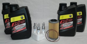 Sea-Doo 4Tec Oil Change Kit 3 NGK Spark Plugs, 1 Gallon XPS Oil and OEM Oil Filter For ROTAX Engines