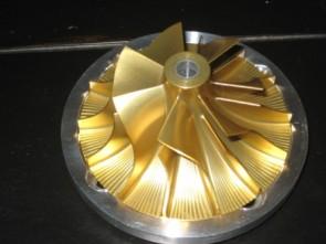 Engine Tech Yamaha SHO Race Supercharger Impeller 18lb