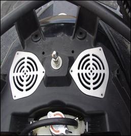R & D RXP-X 260/300 Cool Air Vent Plate Kit