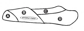 Hydro Turf Polaris SLH (98-01) / SLX (99-01) / Pro 1200 (00-01) Seat Cover
